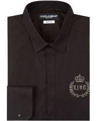 Dolce & Gabbana - King Embellished Shirt - Lyst