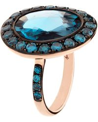 Annoushka - Dusty Diamonds Topaz Ring - Lyst