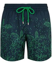 Vilebrequin - Bubble Turtles Pack-away Mahina Swim Shorts - Lyst