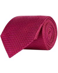 Turnbull & Asser - Floating Squares Silk Tie - Lyst