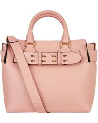 Burberry - Small Leather Belt Bag - Lyst