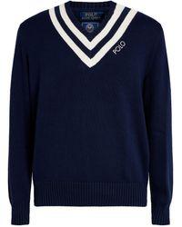 Polo Ralph Lauren Cricket Sweater - Blue