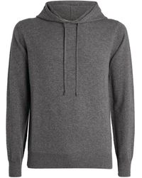 7 For All Mankind Cashmere Hoodie - Gray