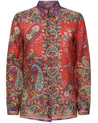 Etro - Paisely Shirt - Lyst