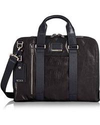 Tumi - Aviano Leather Briefcase - Lyst
