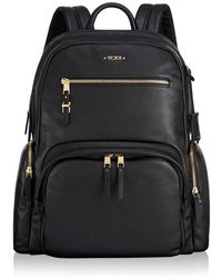 Tumi - Leather Backpack - Lyst