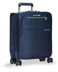 Briggs & Riley Small Baseline Spinner Case - Blue