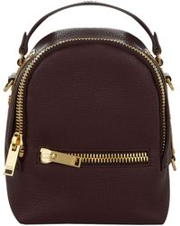 Sophie Hulme - Nano Grained Leather Wilson Backpack - Lyst