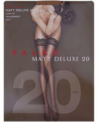 Falke Matt Deluxe 30 Stockings - Multicolour