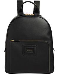 Ralph Lauren Purple Label Leather Backpack - Black