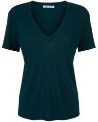 Cotton Citizen - Classic V-neckline T-shirt - Lyst