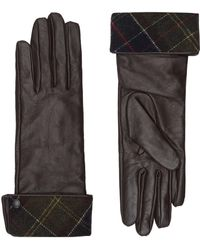 Barbour - Lady Jane Leather Gloves - Lyst