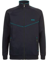 BOSS - Piped Trims Track Jacket - Lyst