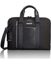 Tumi Aviano Slim Briefcase - Black