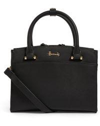 Harrods St James Grab Bag - Black