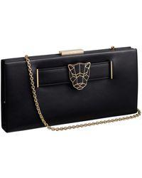 Cartier - Panthre De Leather Clutch Bag - Lyst