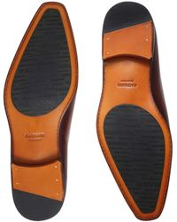 Magnanni Wholecut Oxford Shoes - Natural
