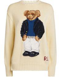 Ralph Lauren - Polo Bear Cotton-blend Sweater - Lyst