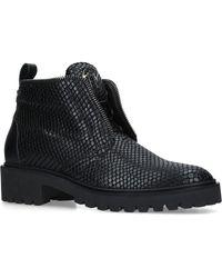 Giuseppe Zanotti - Textured Leather Boots - Lyst
