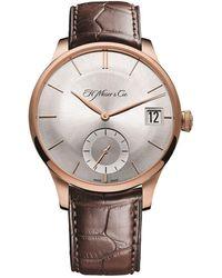 H. Moser & Cie Venturer Big Date Watch 41.5mm - Metallic