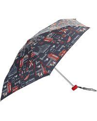 Harrods Sw1 Umbrella - Blue
