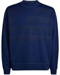 Emporio Armani Eagle Logo Sweatshirt - Blue
