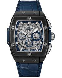 Hublot Ceramic Spirit Of Big Bang Watch 42mm - Blue