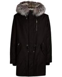 Mackage Moritz Fur-lined Down & Feather Fill Parka - Black
