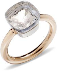 Pomellato - Nudo White Topaz Classic Ring - Lyst