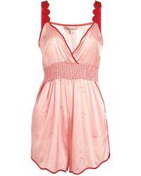 Morgan Lane Cherri Playsuit - Pink