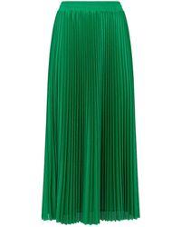 RED Valentino - Accordion Pleat Skirt - Lyst