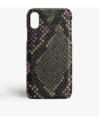 The Case Factory Iphone Xs Max Python Multicolour - Brown