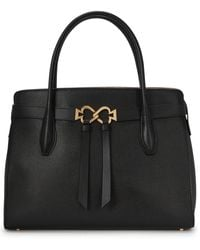 Kate Spade Toujours Large Leather Top Handle Bag - Black