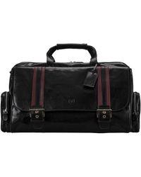 Maxwell Scott Bags Black Women's Travel Bag In Black