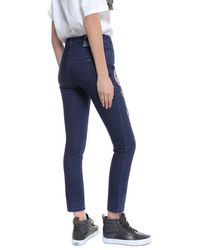 Mr & Mrs Italy - Embroidery Jeans Skinny Denim - Lyst