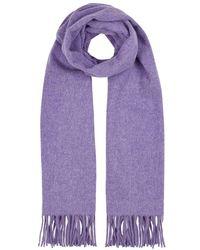 Acne Studios - Canada Lilac Mélange Wool Scarf - Lyst
