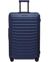 Porsche Design Ori05503 4 Wheel Large Trolley Case - Blue
