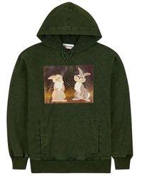 Rochambeau Thumper Hoodie - Green