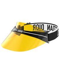 Dior - Club1 Yellow Visor - Lyst