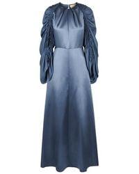 Zariah self-tie silk dress Roksanda Ilincic dsDqYRtgp