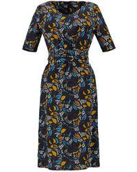 Max Mara - Cotton Poplin Dress - Lyst