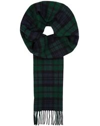 Norse Projects - X Johnstons Checked Wool Scarf - Lyst