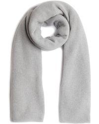 Jigsaw Sienna Wool Cashmere Scarf - Grey