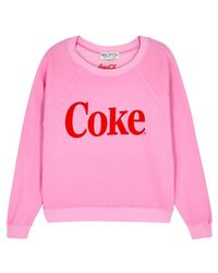 Wildfox - Classic Coke Cotton Blend Sweatshirt - Lyst