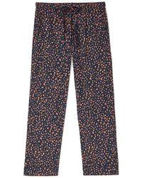 Jigsaw Speckle Pyjamas Cotton Modal - Blue