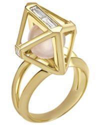 Atelier Swarovski - Double Diamond Ring Created Diamonds - Lyst