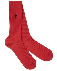 London Sock Co. - Simply Sartorial Routemaster Red - Lyst