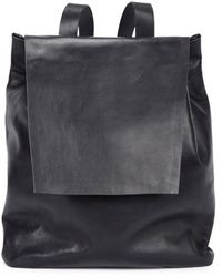 Gvyn - Cole Black Leather Backpack - Lyst