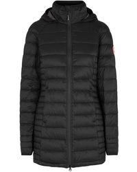 Canada Goose - Brookvale Black Quilted Coat - Lyst