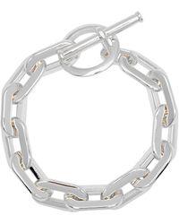Jenny Bird Toni Link Silver-dipped Chain Bracelet - Metallic